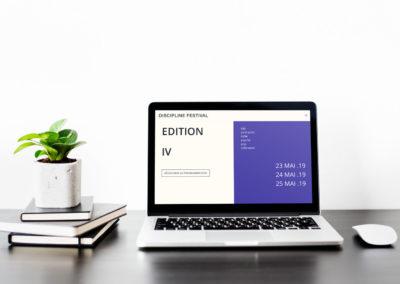 Webdesign | Discipline Festival