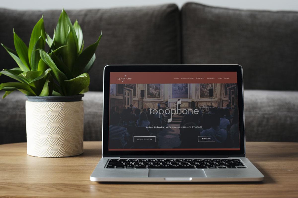 Webdesign | Site Topophone