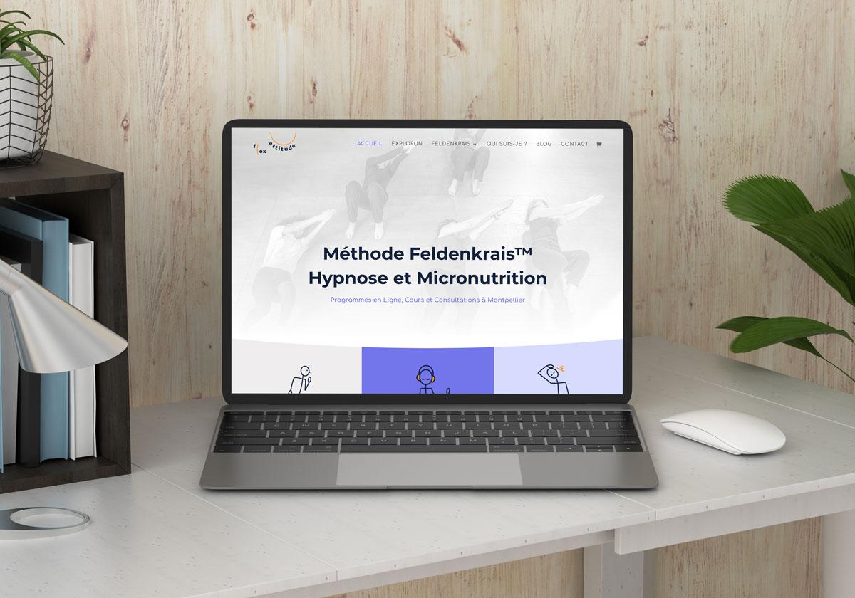 Webdesign site Méthode Feldenkrais à Montpellier